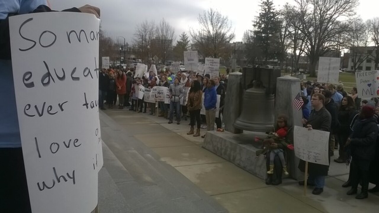 March to the Capitol: MLK Jr. Day in Boise