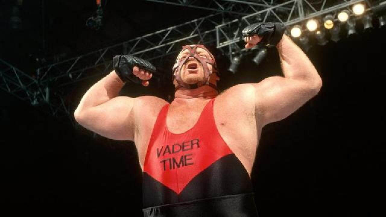 WWE legend Vader dies at the age of 63