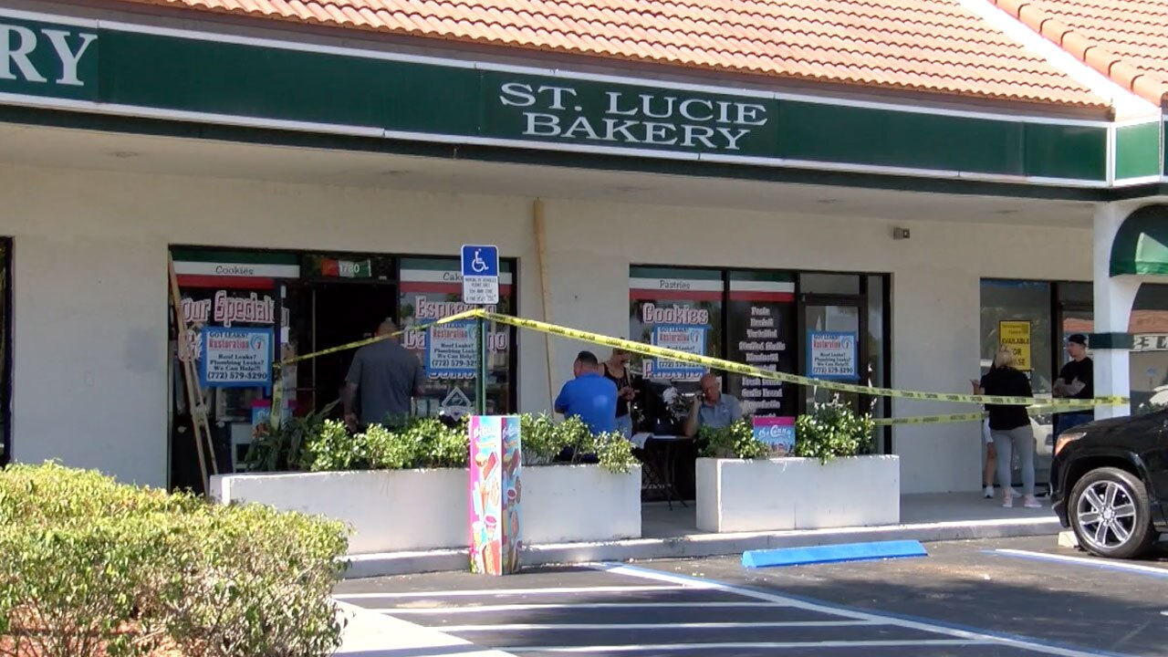 Fire at St. Lucie Bakery on May 24, 2021