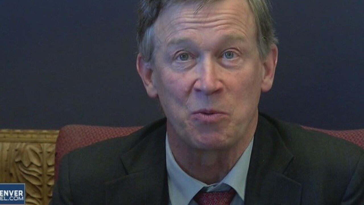 Gov. Hickenlooper meets with Hillary Clinton amid VP discussions