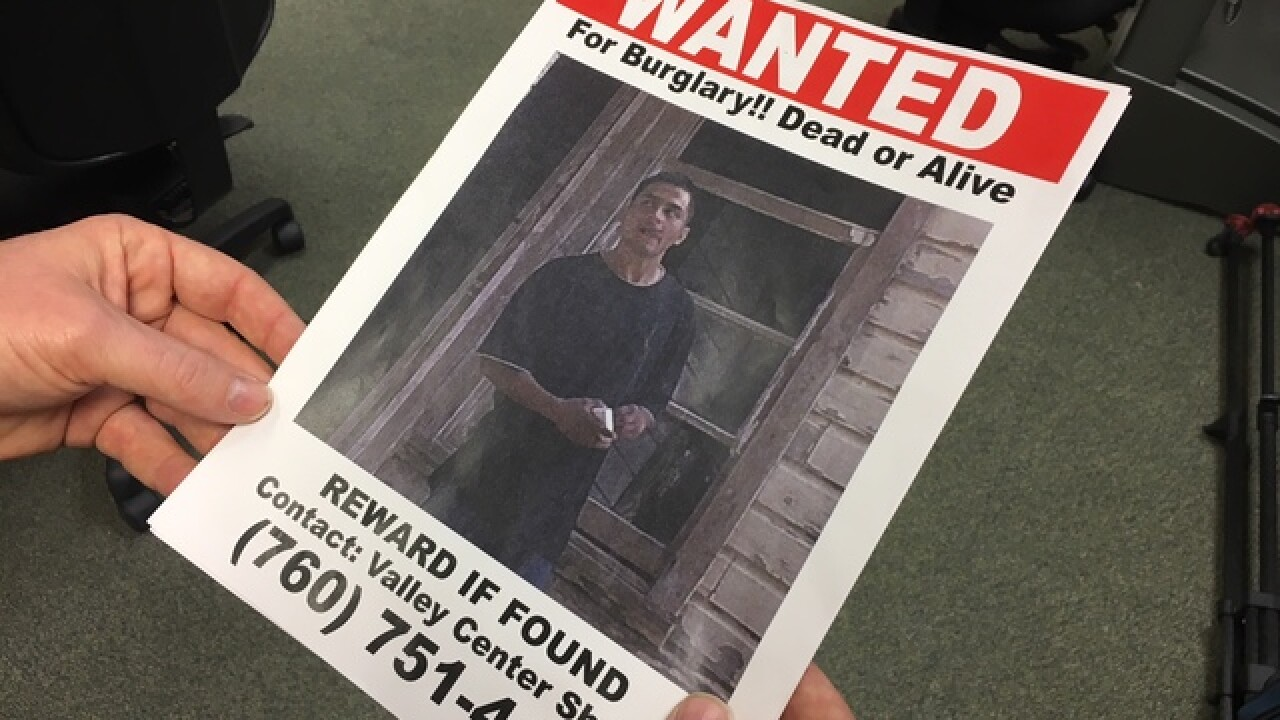 'Dead or Alive' posters for North County crime
