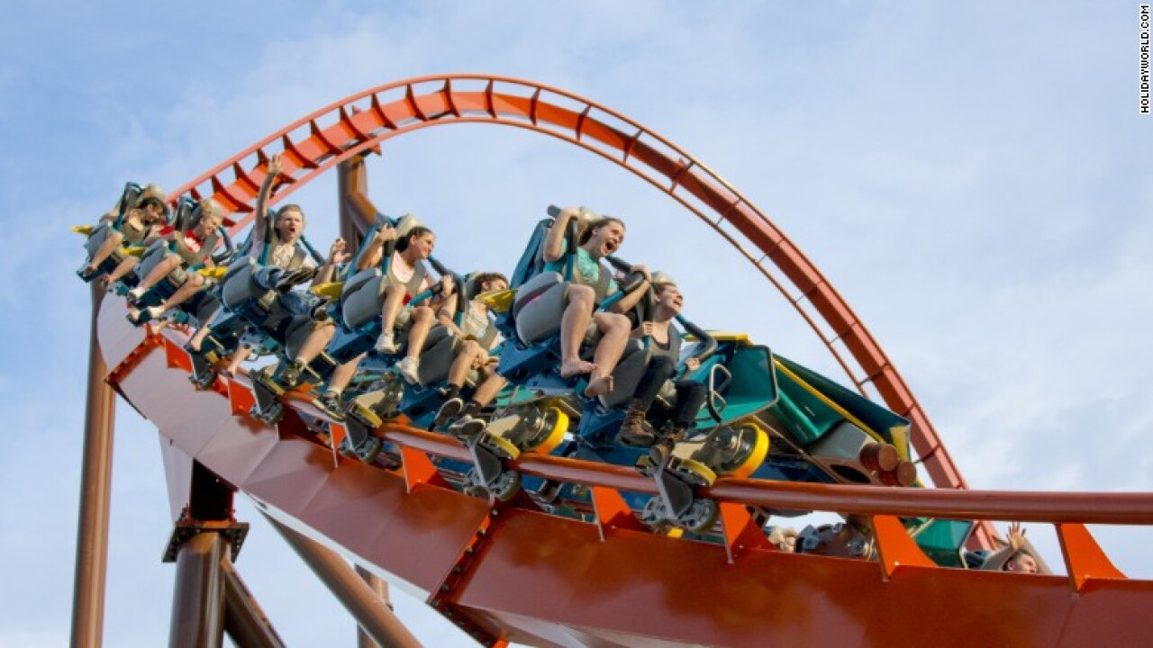 The top 6 new extreme amusement rides, slides and roller coasters this summer