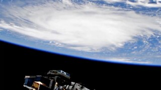 ISS captures view of Hurricane Dorian from space