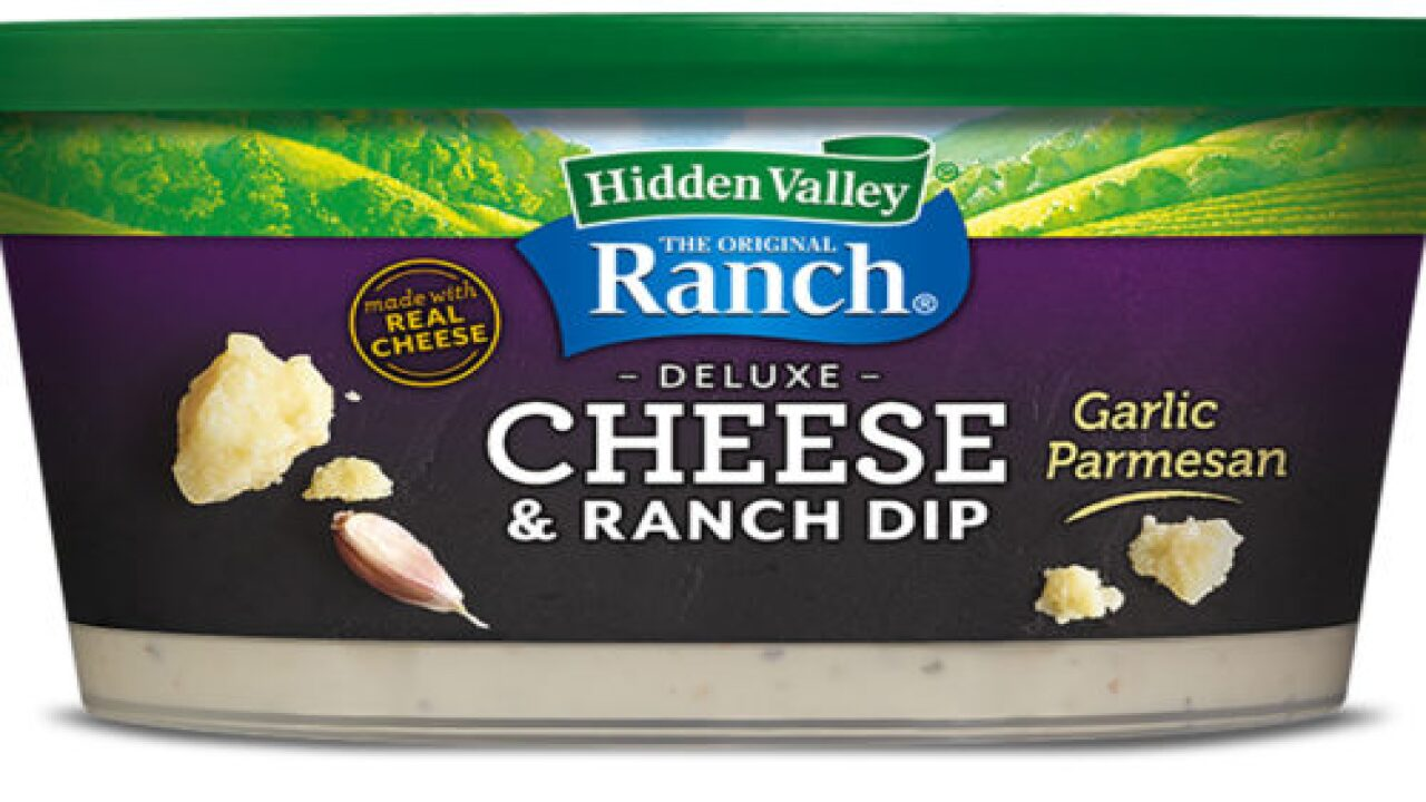 New Hidden Valley Dips Combine Ranch With Cheese