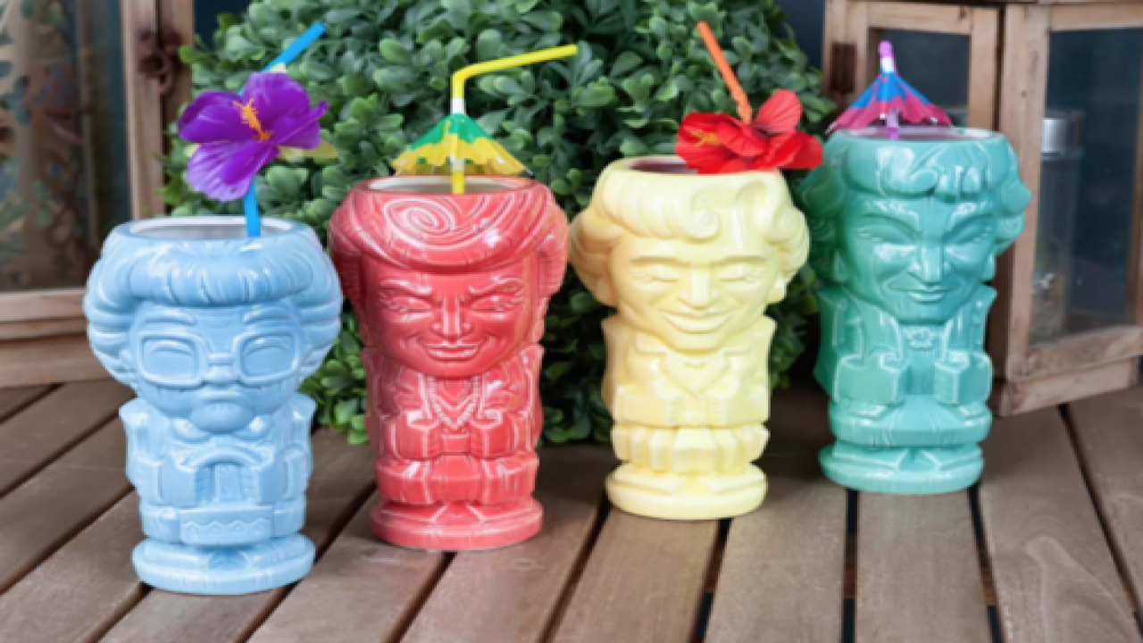 You Can Now Buy A 'Golden Girls' Tiki Mug Set