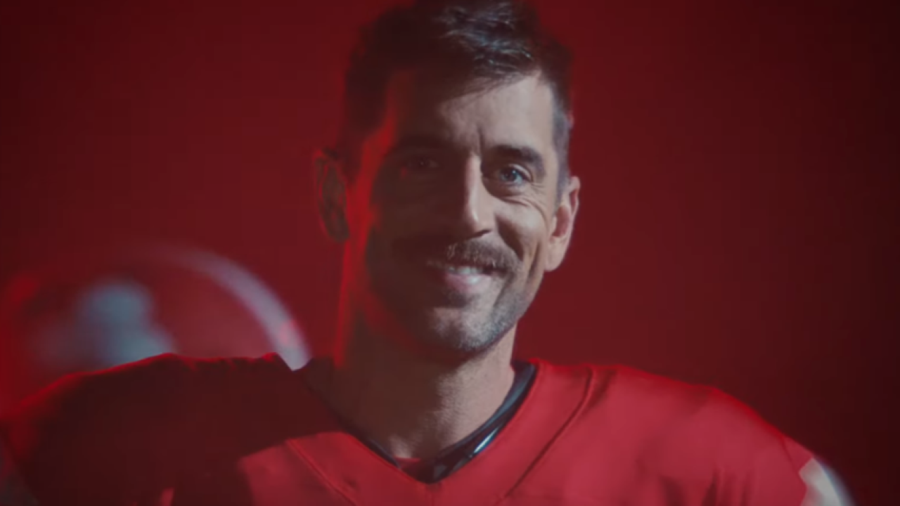 Aaron Rodgers State Farm campaign
