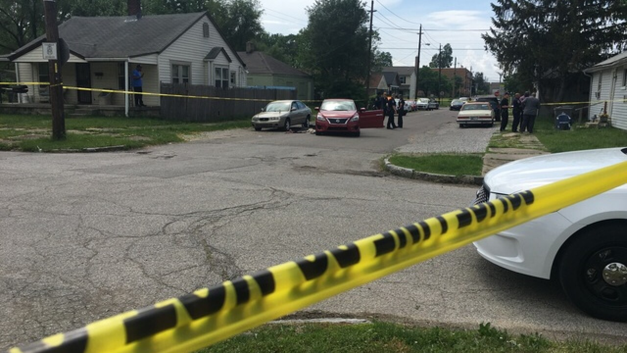 Man shot, killed in car on Indy's northeast side