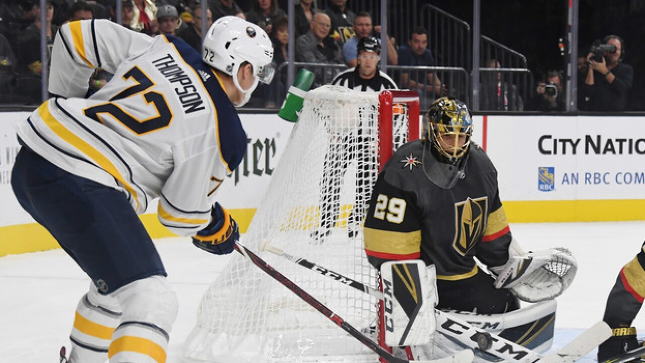 5 Observations: Golden Knights top Sabres 4-1