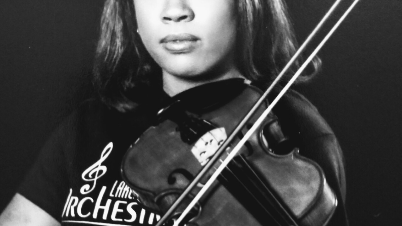 Asya Goodman, is a senior at Lakeland High School located in Suffolk, VA and will be a 2020 Honor Graduate.  She's been playing the violin for 6 years and is a member of Lakeland's orchestra..jpg