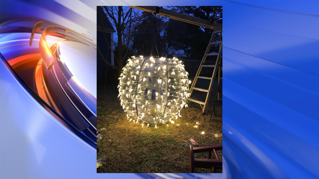Small businesses come together for Norfolk neighborhood's first New Year's balldrop