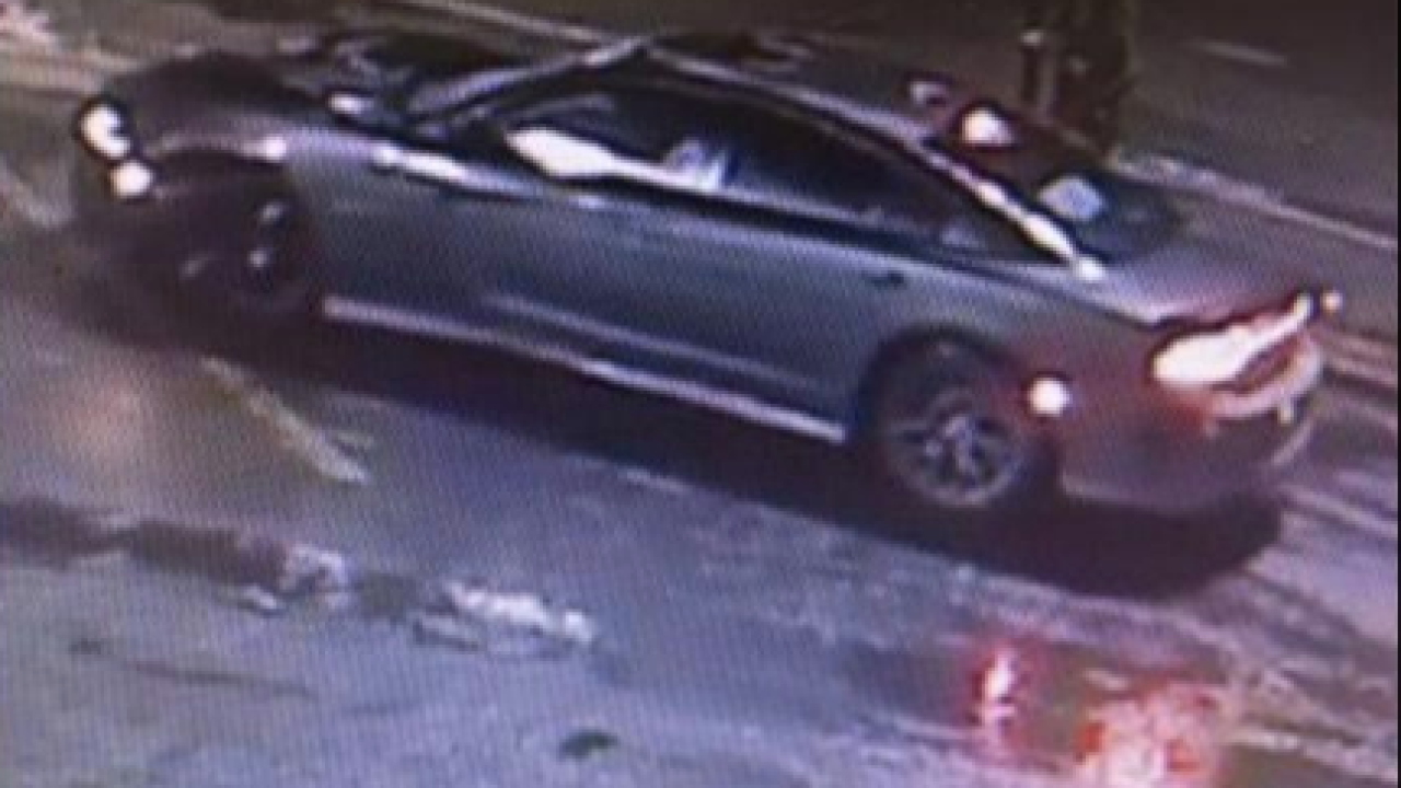 Suspect car in Detroit hit and run
