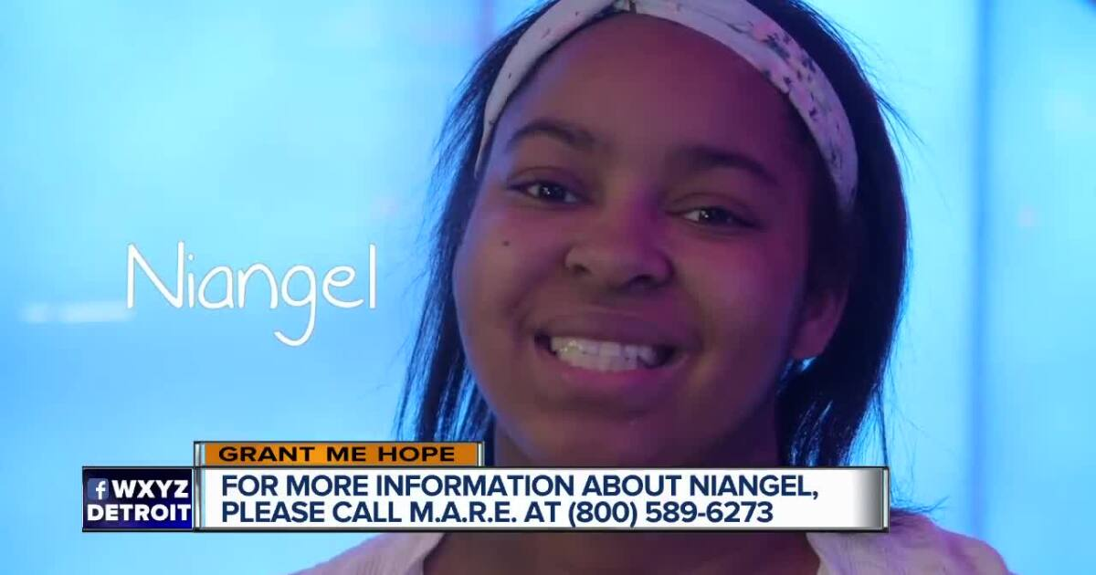 Niangel hopes to be adopted this summer