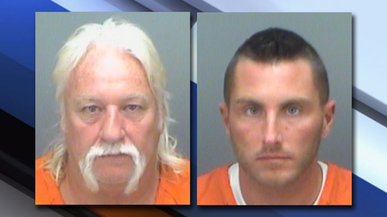 Clearwater employees arrested for stealing