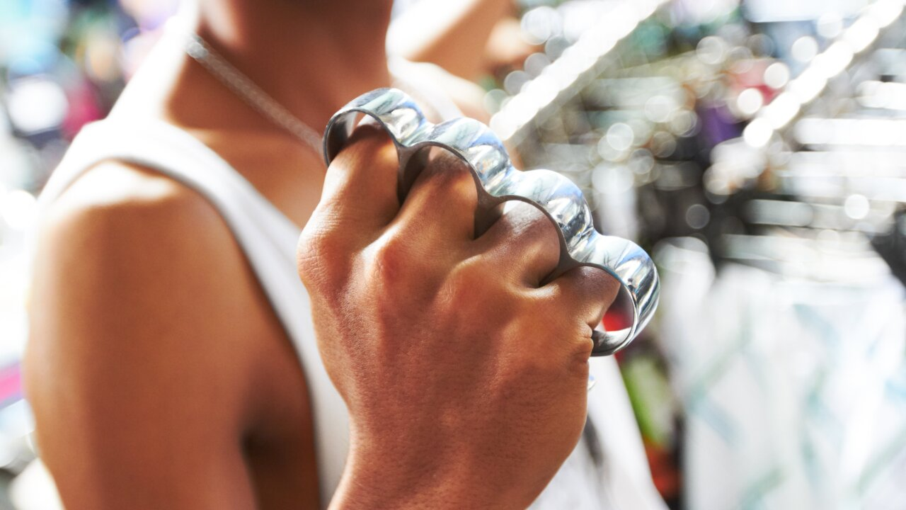 It's now legal to carry brass knuckles in Texas. Because, 'self-defense'