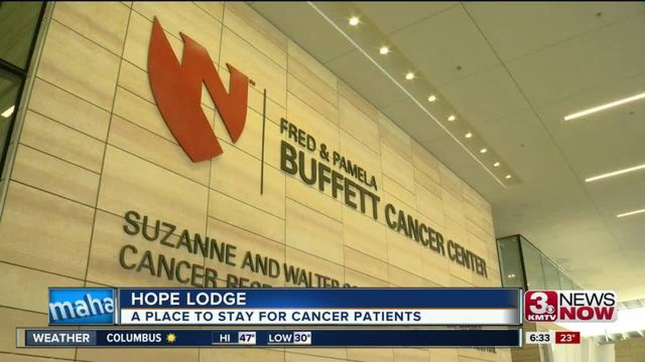 Complimentary lodge for cancer patients