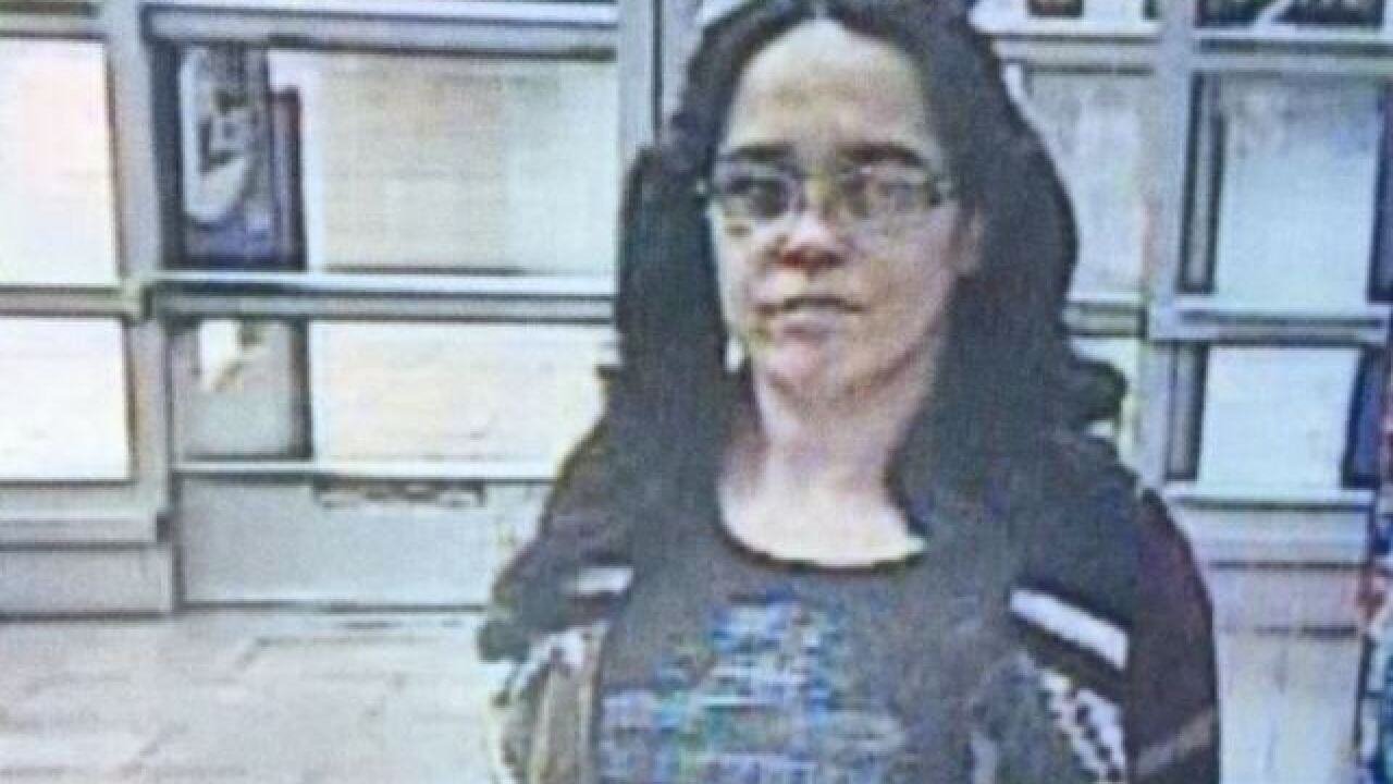 Meridian Police looking for credit card suspect