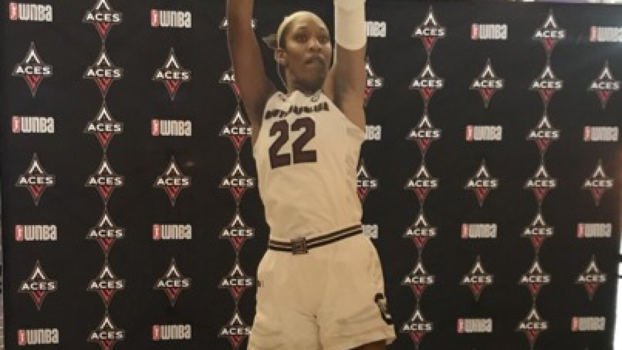 A'ja Wilson top pick of WNBA draft by Vegas Aces