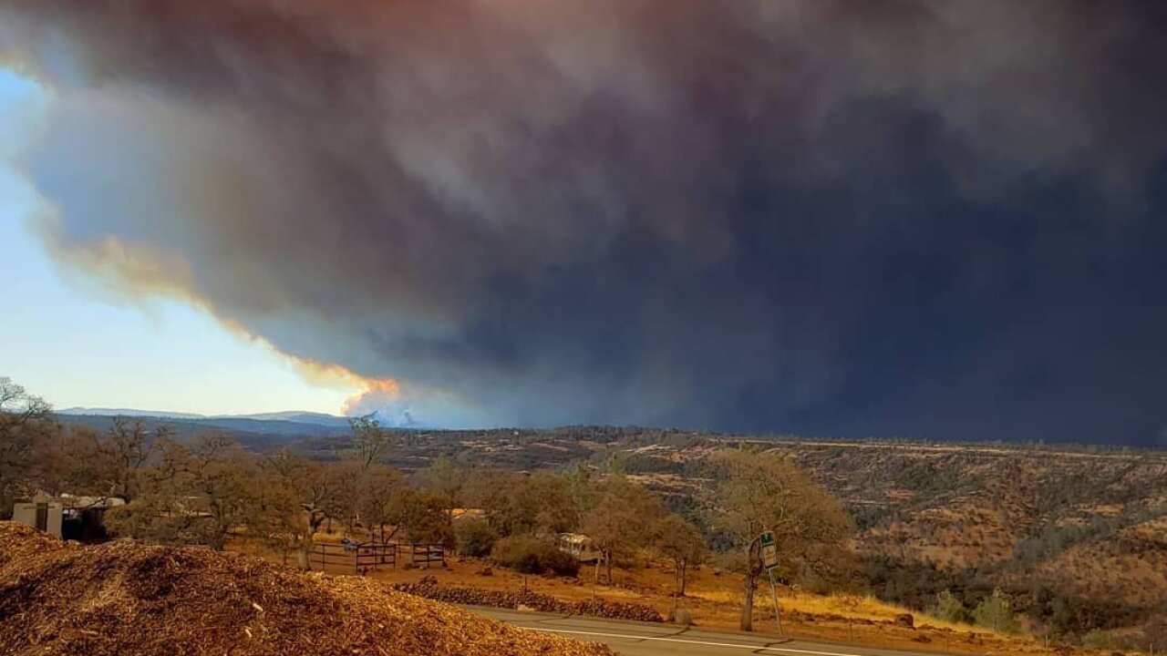 Northern California 'Camp Fire' is growing at a rate of about 80 football fields per minute