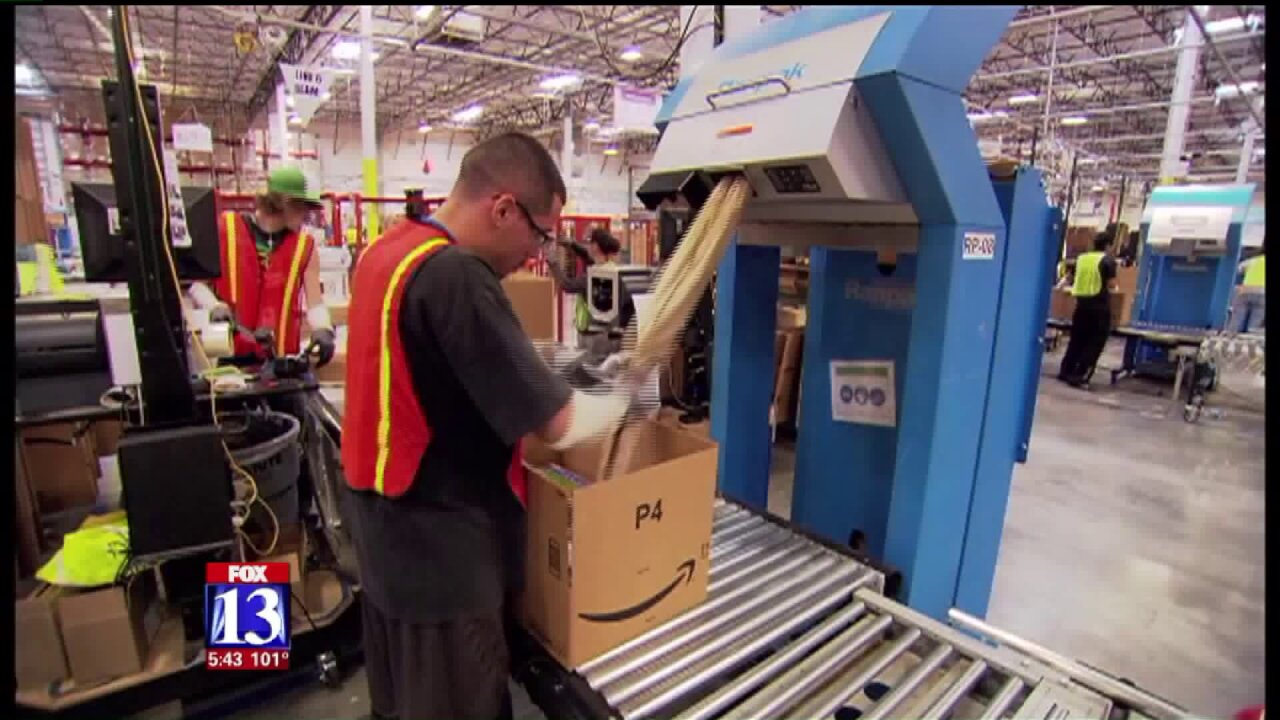 New Amazon center means jobs, same-day delivery for Salt LakeCity