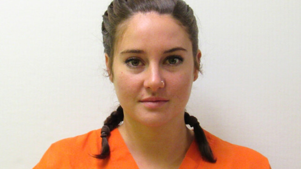Shailene Woodley arrested during protest of Dakota Access Pipeline
