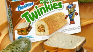 Peanut butter and pickle sandwich Twinkies? Don't worry, they're not coming to a store near you