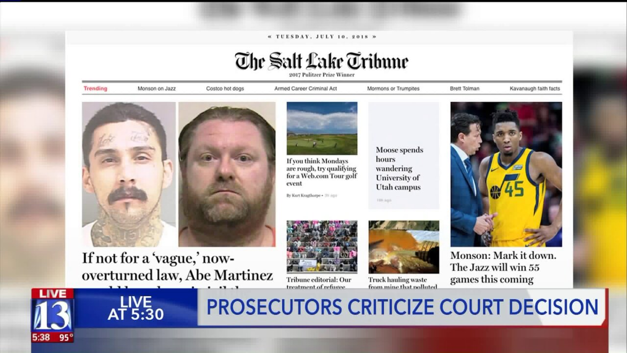 Talking to the Trib: Court decision sets table for murder in Utah