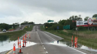 I-29 Flood Flooding