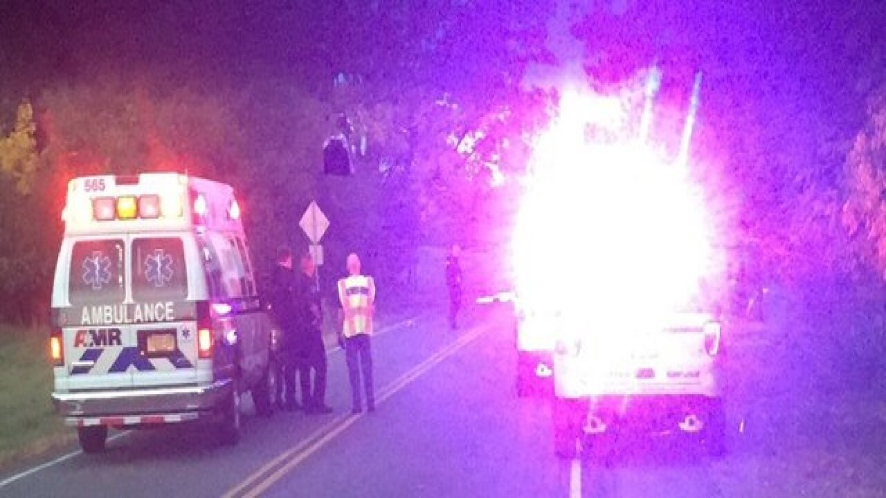 Serious motorcycle accident in East Aurora