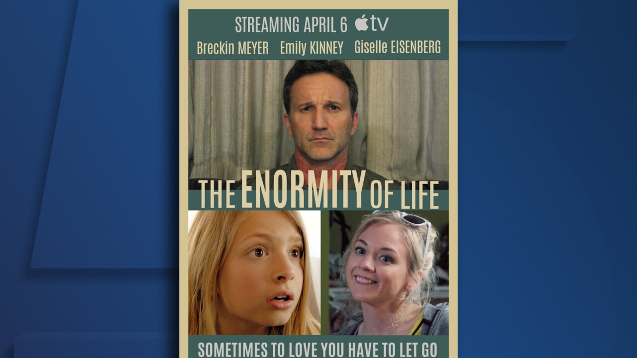 enormity of life poster