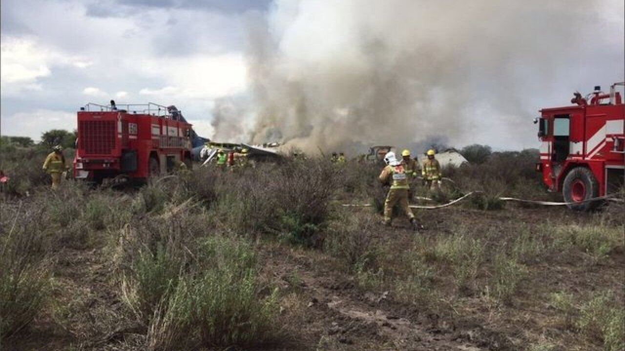 A plane crashed in Mexico but everyone on board survived