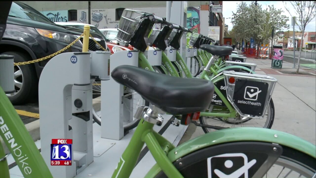 SLC's GREENbike marks big milestone