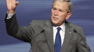 George W Bush AP