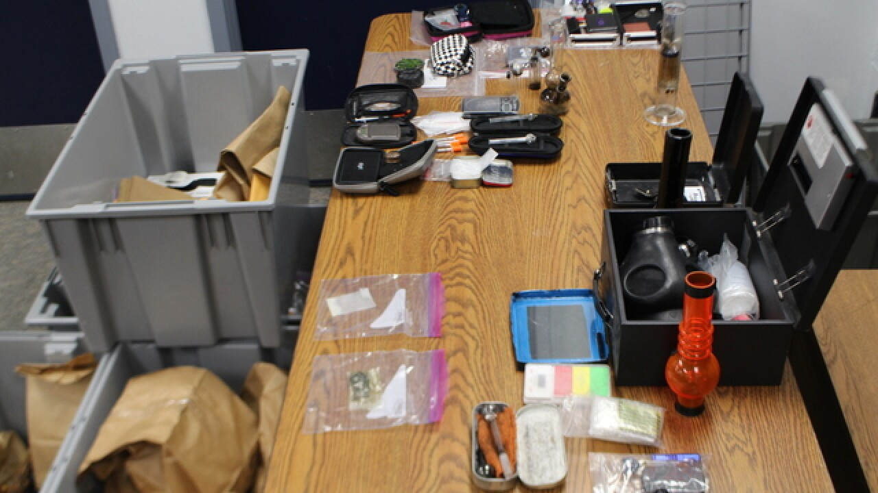19 arrested in suspected meth trafficking ring