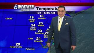 Juan Acuña's weather forecast for Feb. 16