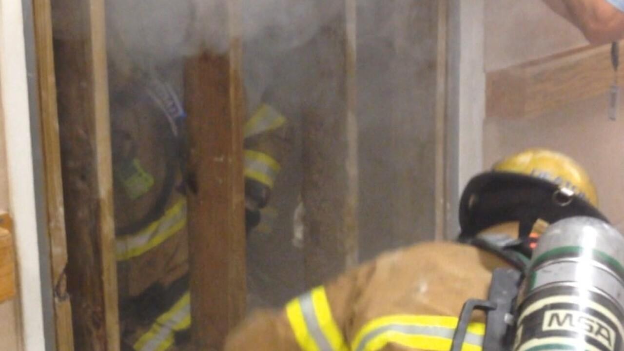 Donated Sentara Life Care building helps firefighters train for dangerousscenarios