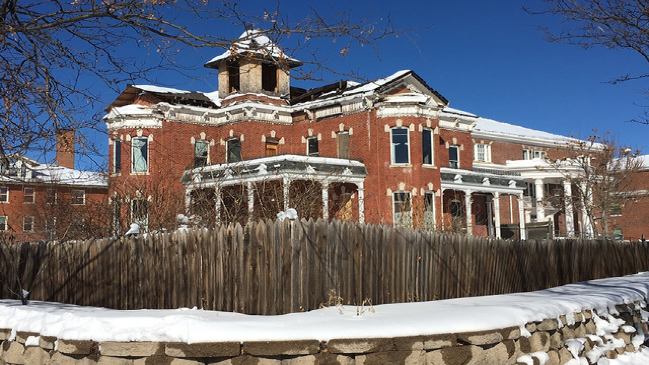 Bosler House restoration underway