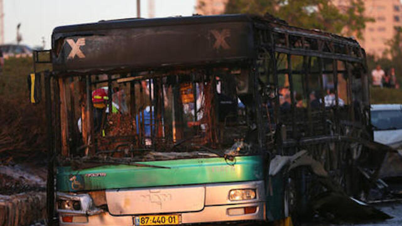 'Terror attack' hits Jerusalem bus