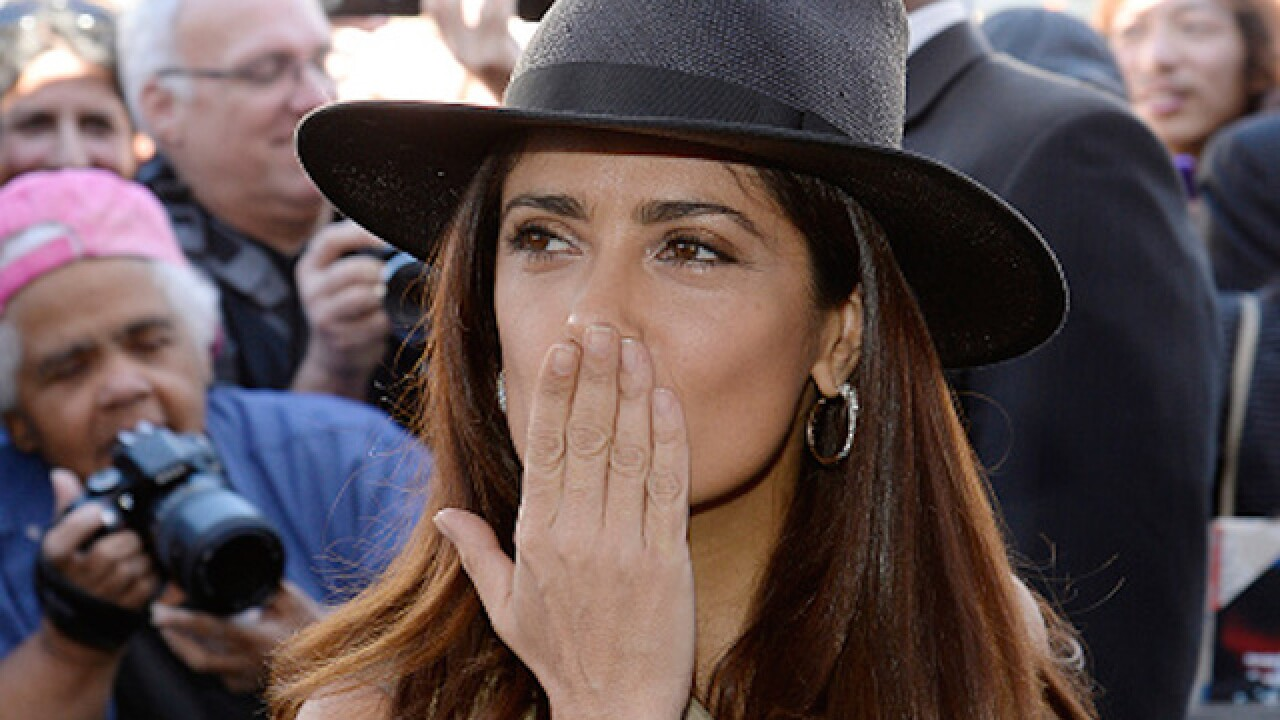 Neighbor shot Salma Hayek's dog
