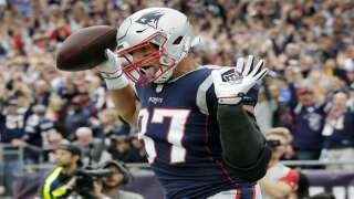 The Latest: Patriots TE Rob Gronkowski injures ankle