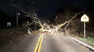 Weather damage in Medina County