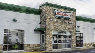 Krispy Kreme is giving free coffee and doughnuts to teachers