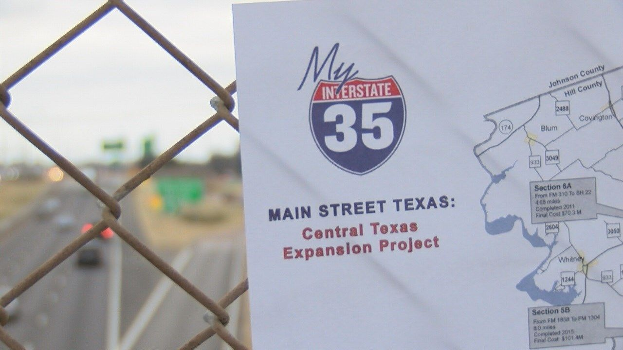 Several more years of construction along I-35 expected