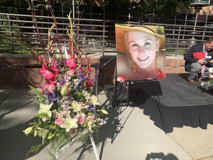 Photos: Vigil for MacKenzie Lueck held at University ofUtah