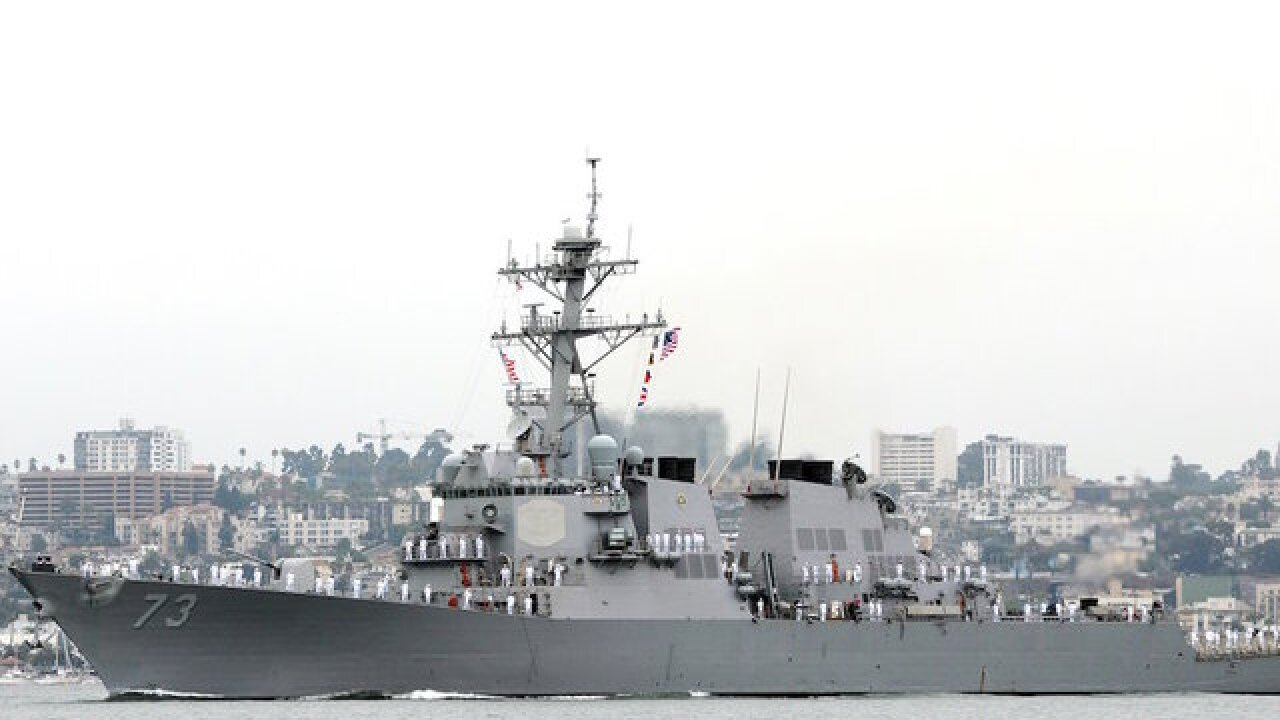 Chinese warship in 'unsafe' encounter with US destroyer, amid rising US-China tensions