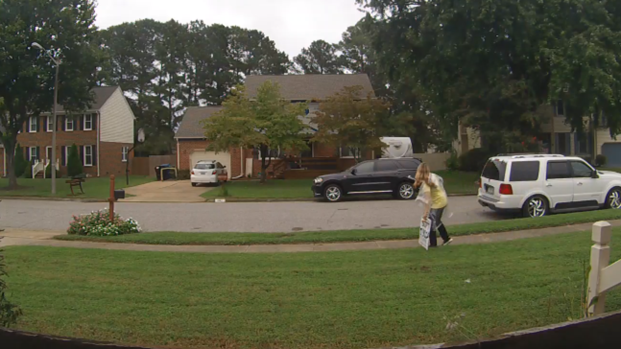 Virginia Beach campaign sign theft caught oncamera