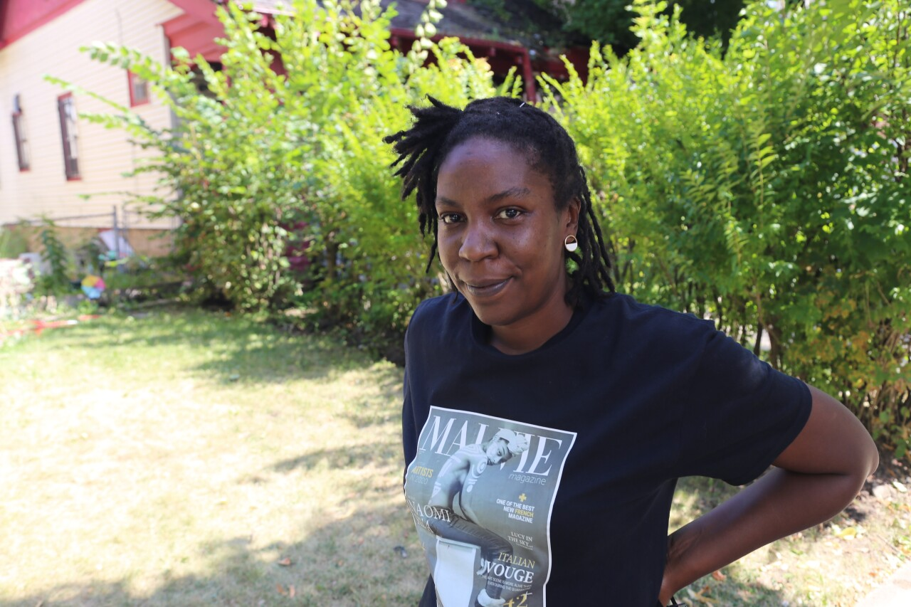 Camille Mays is brightening Sherman Park streets with Peace Gardens. However, she wants to 'work herself out of business' because the work she is doing should never have to be done in the first place.