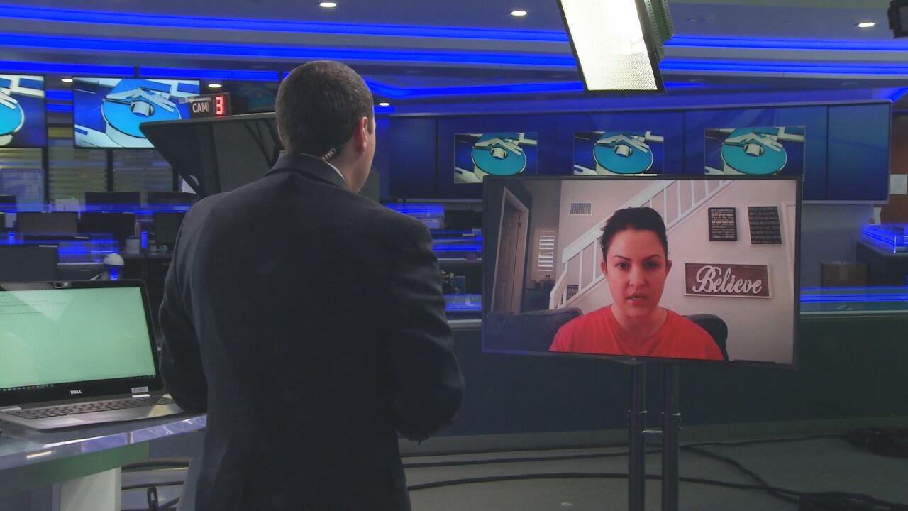 Eric interviewing Lauren Bidnick