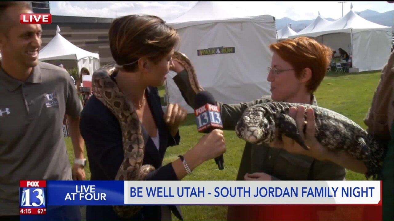 Be Well Utah at South Jordan FamilyNight