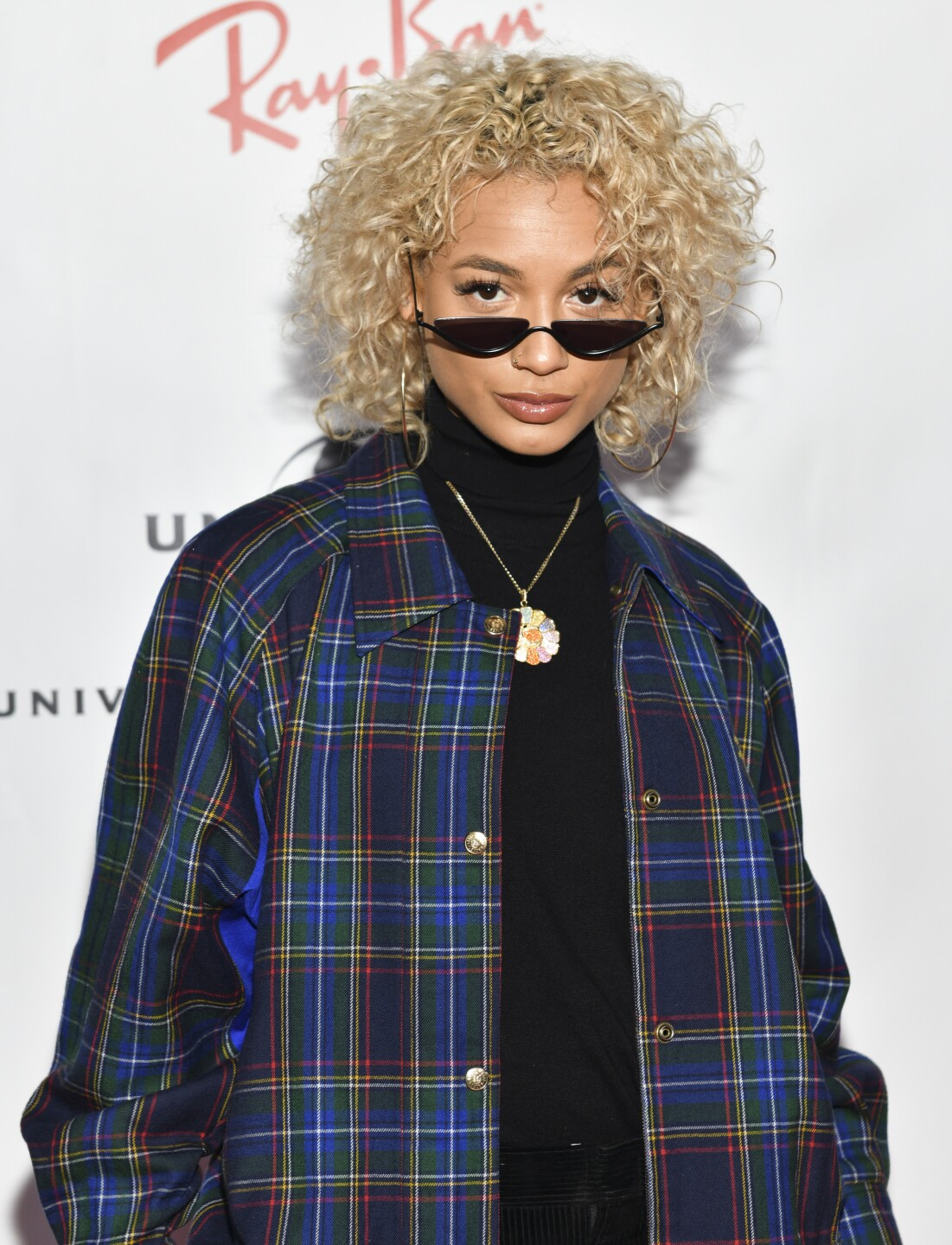 DaniLeigh at the GRAMMYs.