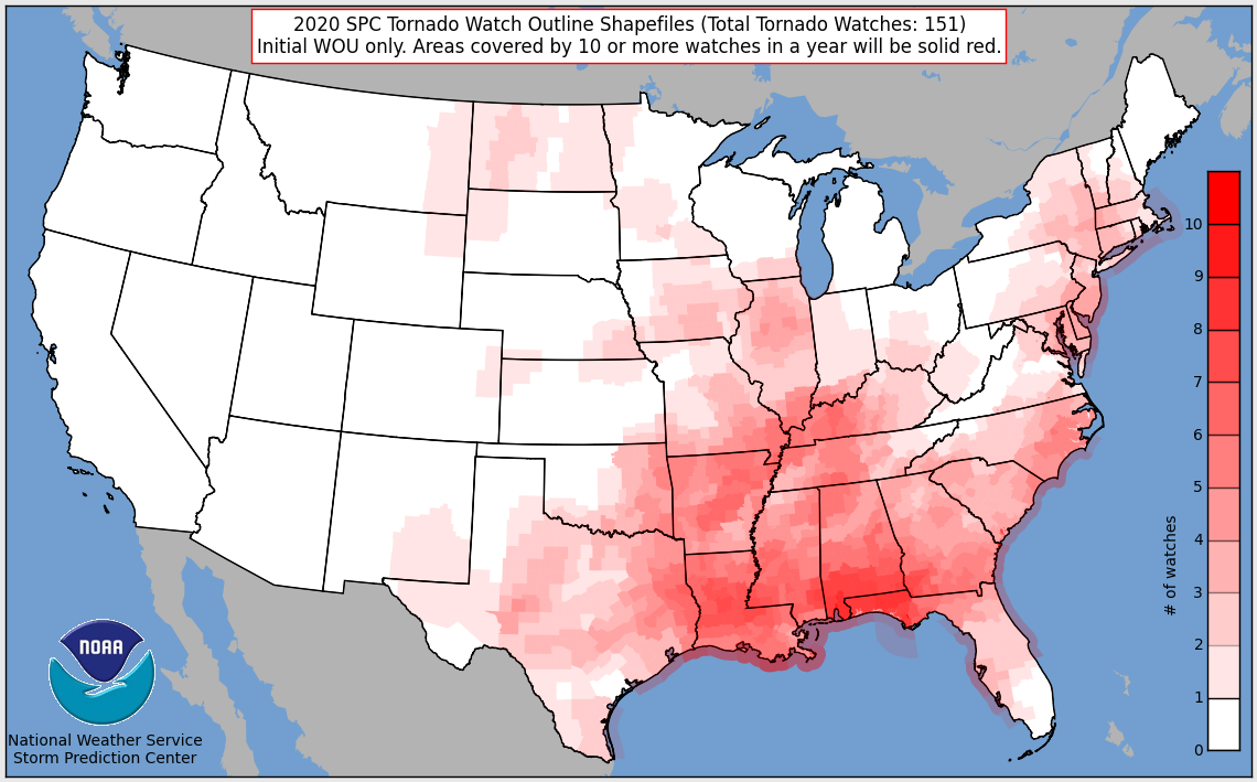 Tornado Watches In 2020